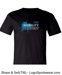 Mobility Project Men's Tee Shirt Design Zoom